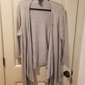 Lane Bryant Open Cardigan
